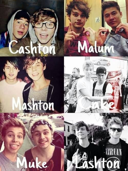 Which is your favorite? Mine is Cake, Muke and Lashton <3