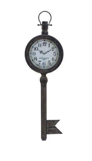 Skeleton Key Wall Clock ♡