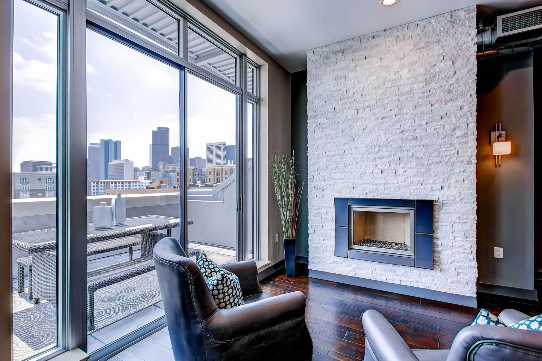 Blake st lofts denver lofts great view denver view fireplace