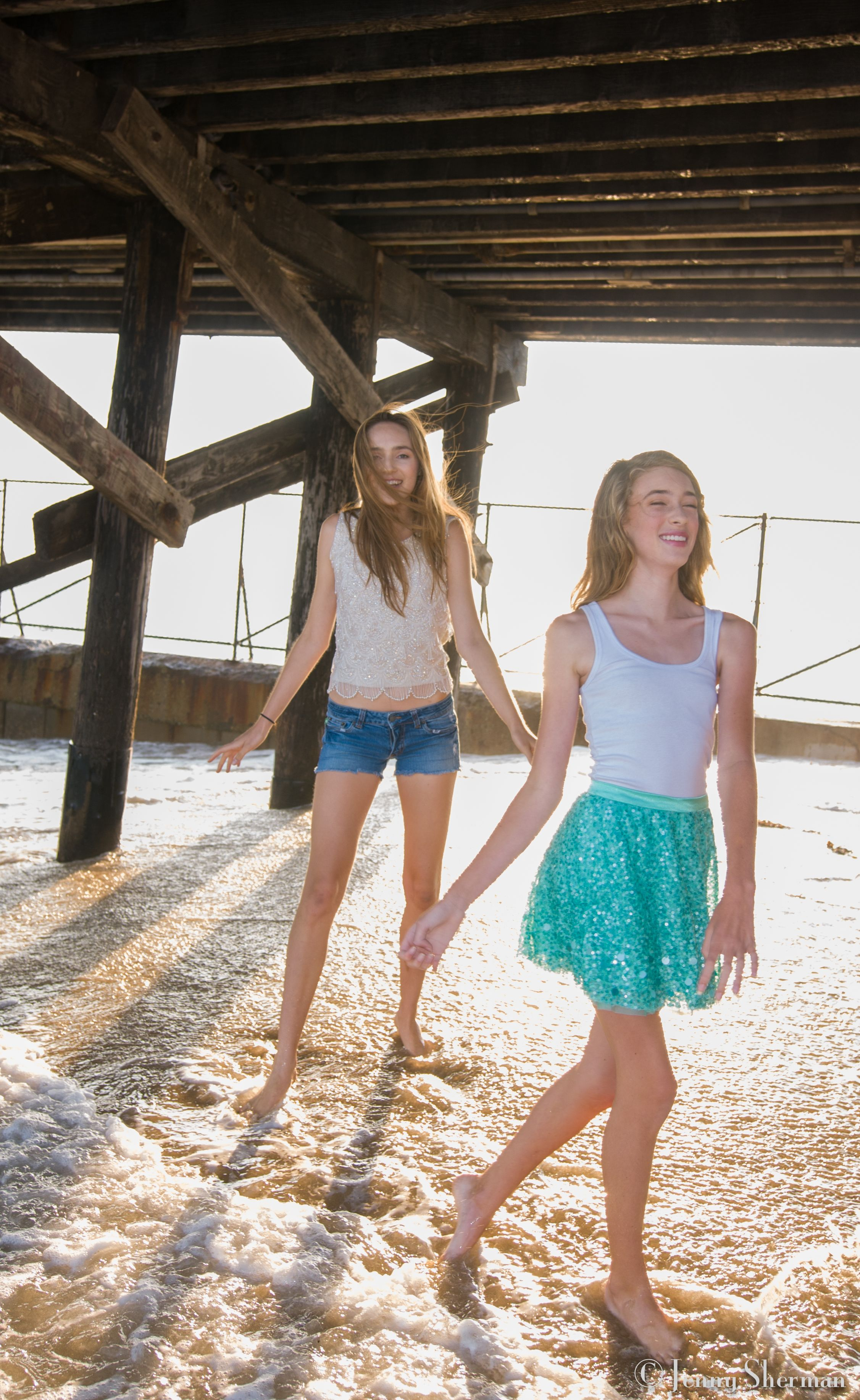 Tween fashion. Cute teen fashion: White t-shirt (wife beater/ Gap ...