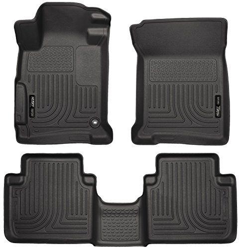 Husky Liners Front 2nd Seat Floor Liners Fits 13 17 Accord Sedan Car Accessories Online Market Husky Liners Honda Accord Floor Liners