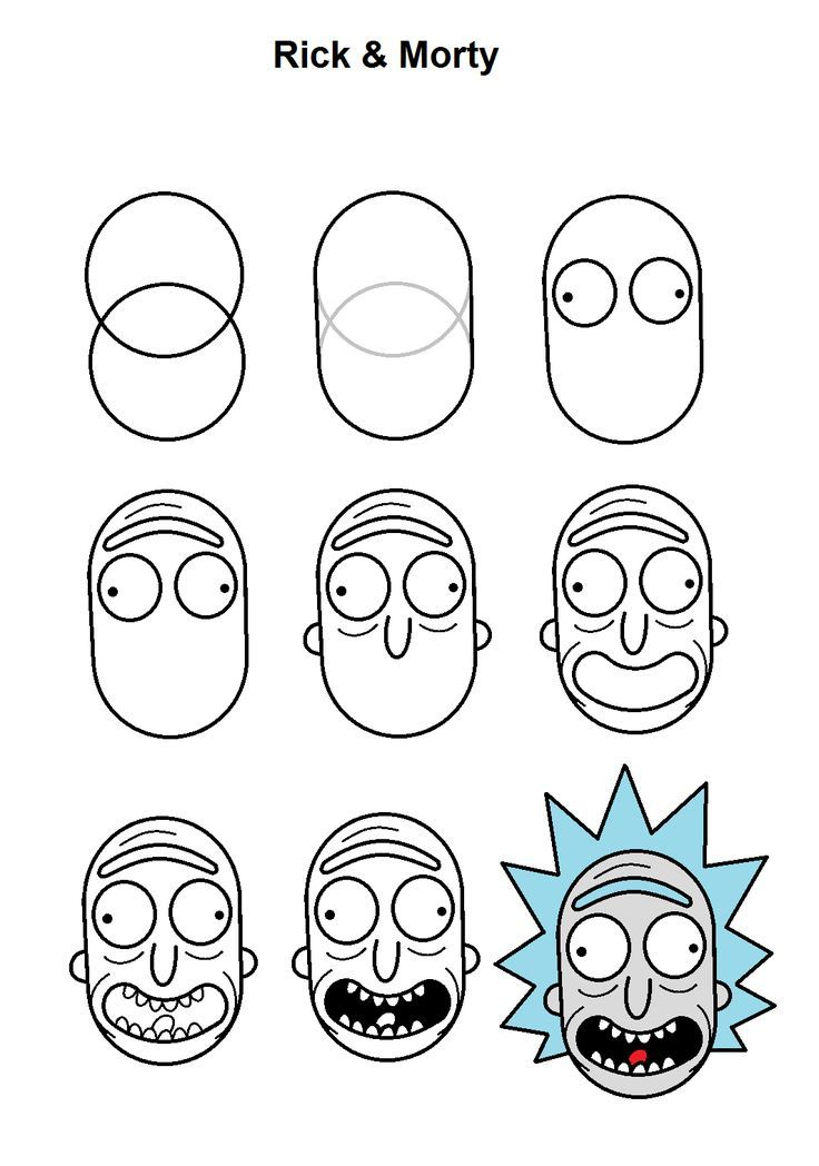 Photo of Rick step-by-step instructions.