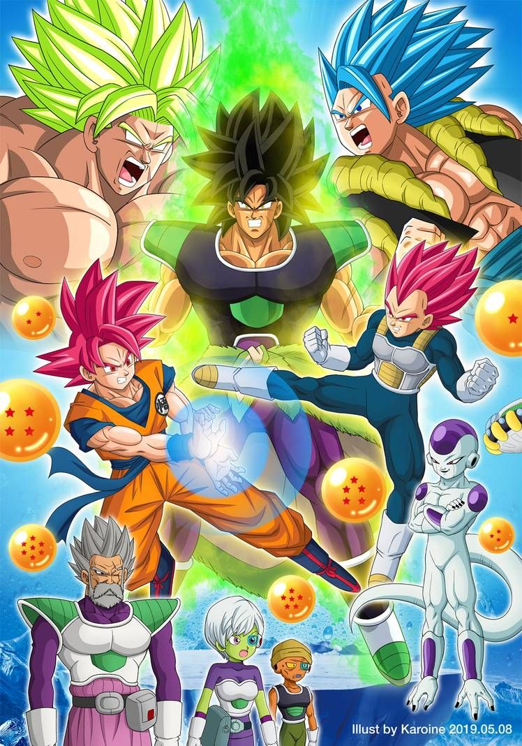 Dragon Ball Super Broly Poster Version 1 By Karoine On Deviantart Anime Dragon Ball Super Dragon Ball Super Wallpapers Dragon Ball Artwork