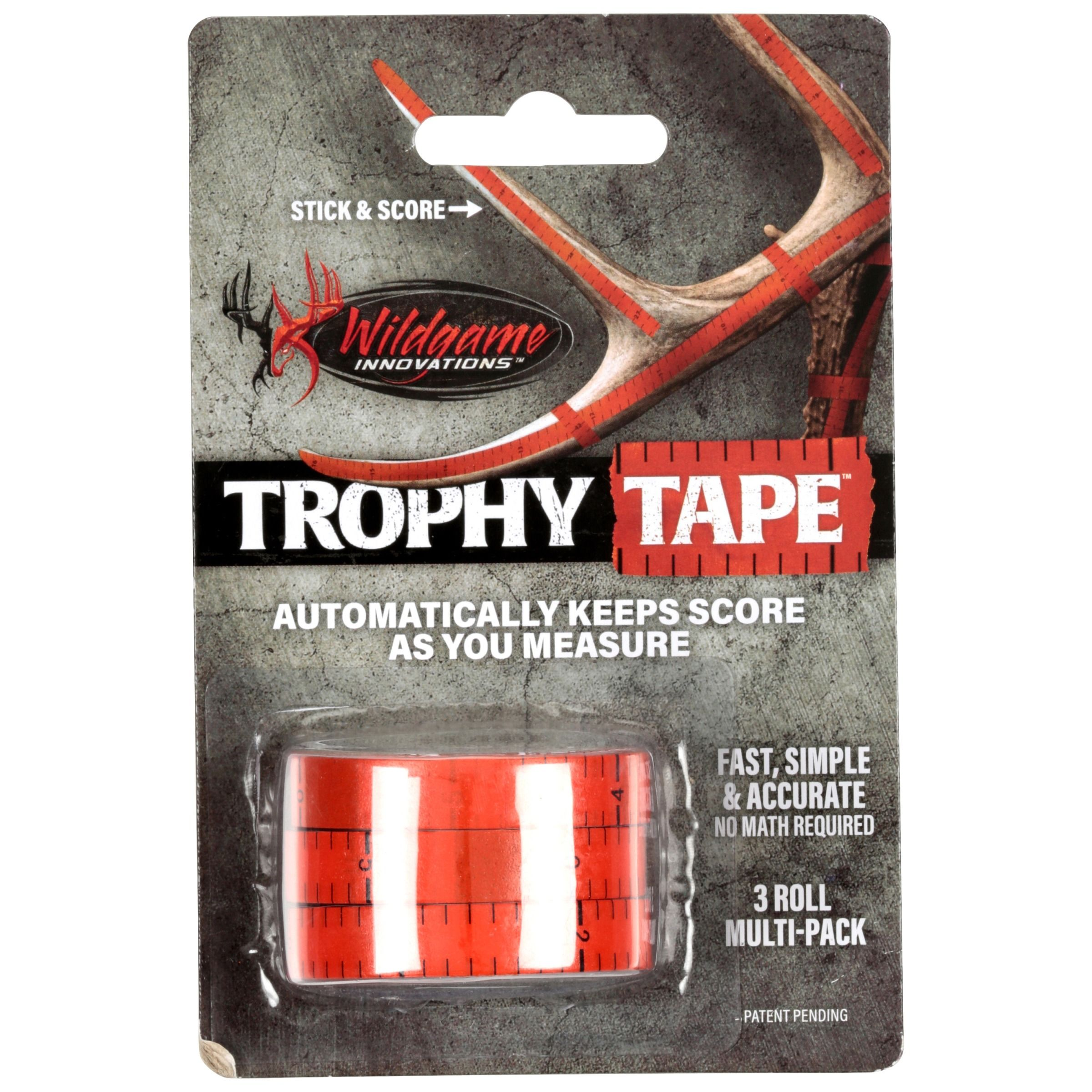 Wildgame Innovations? Trophy Tape? 3 Roll Carded Pack