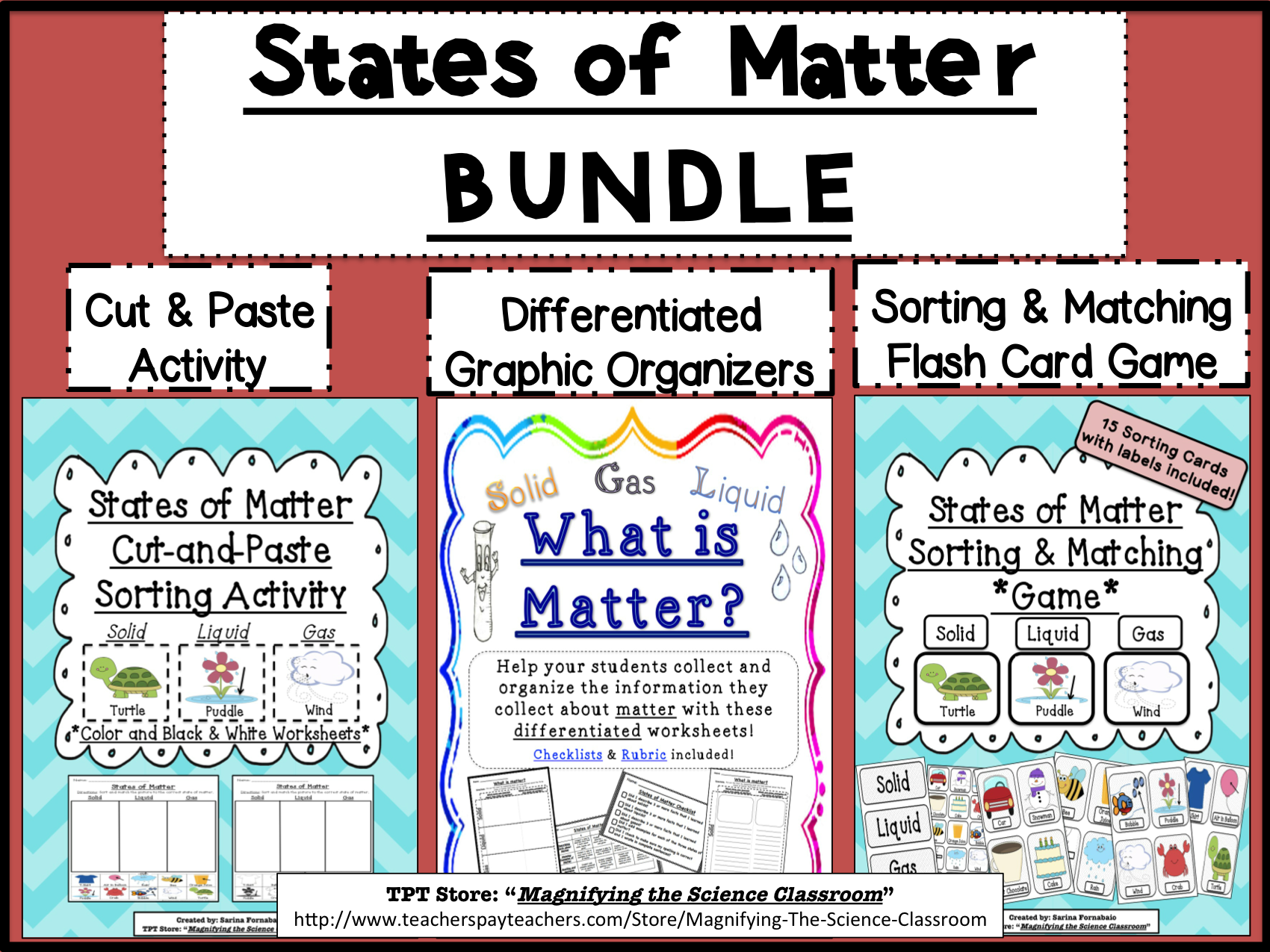 Bundle States Of Matter Activities