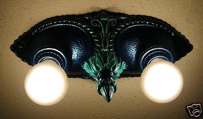 vintage light Moe recessed