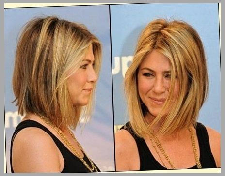 Shoulder Length Layered Inverted Bob Dayasriojd Top Inside Jennifer Aniston