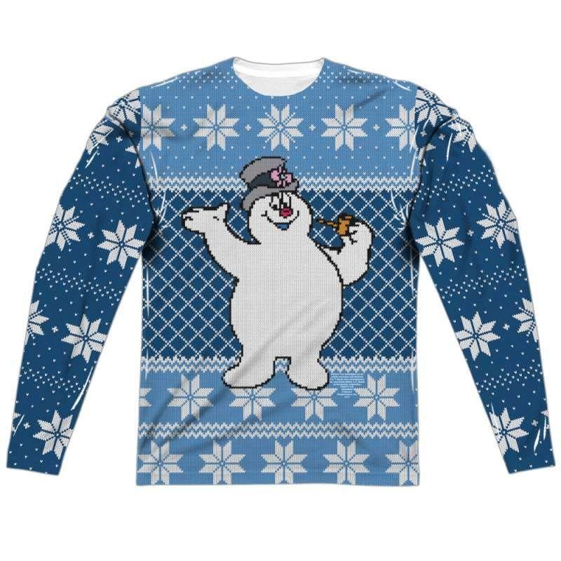 c5420fcf8b1 Frosty the Snowman Long Sleeve Sweater Frosty The Snowmen