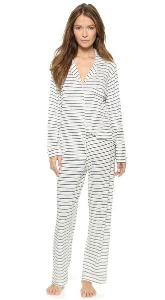 Eberjey Sleep Chic PJ Set   Clothing   Pjs, Pyjamas, Pj sets dbc5ed8d899