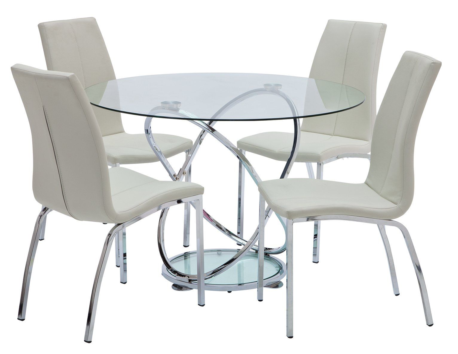 29++ Round glass dining table and chairs argos Ideas