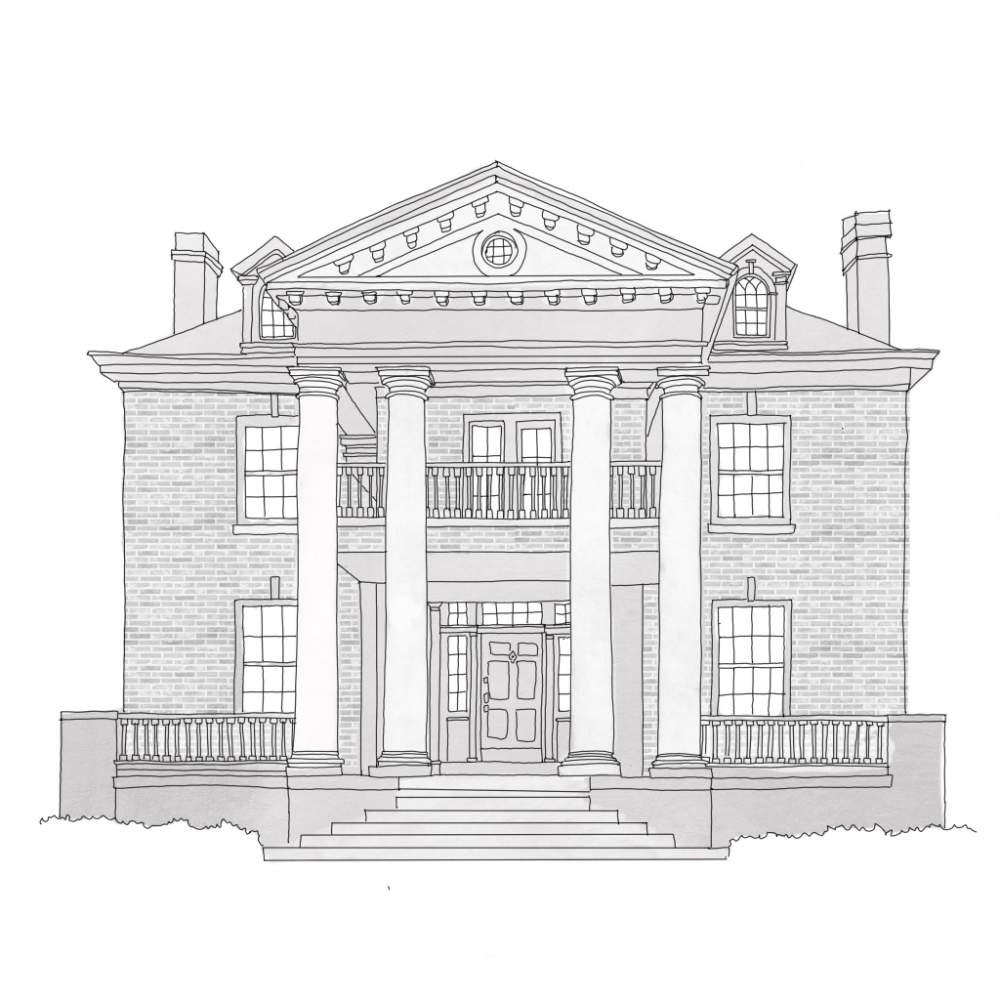 Neoclassical Guide To Residential Styles Upward Architecture And Int Neoclassical Architecture Sketch Neoclassical Architecture House Sketch Architecture