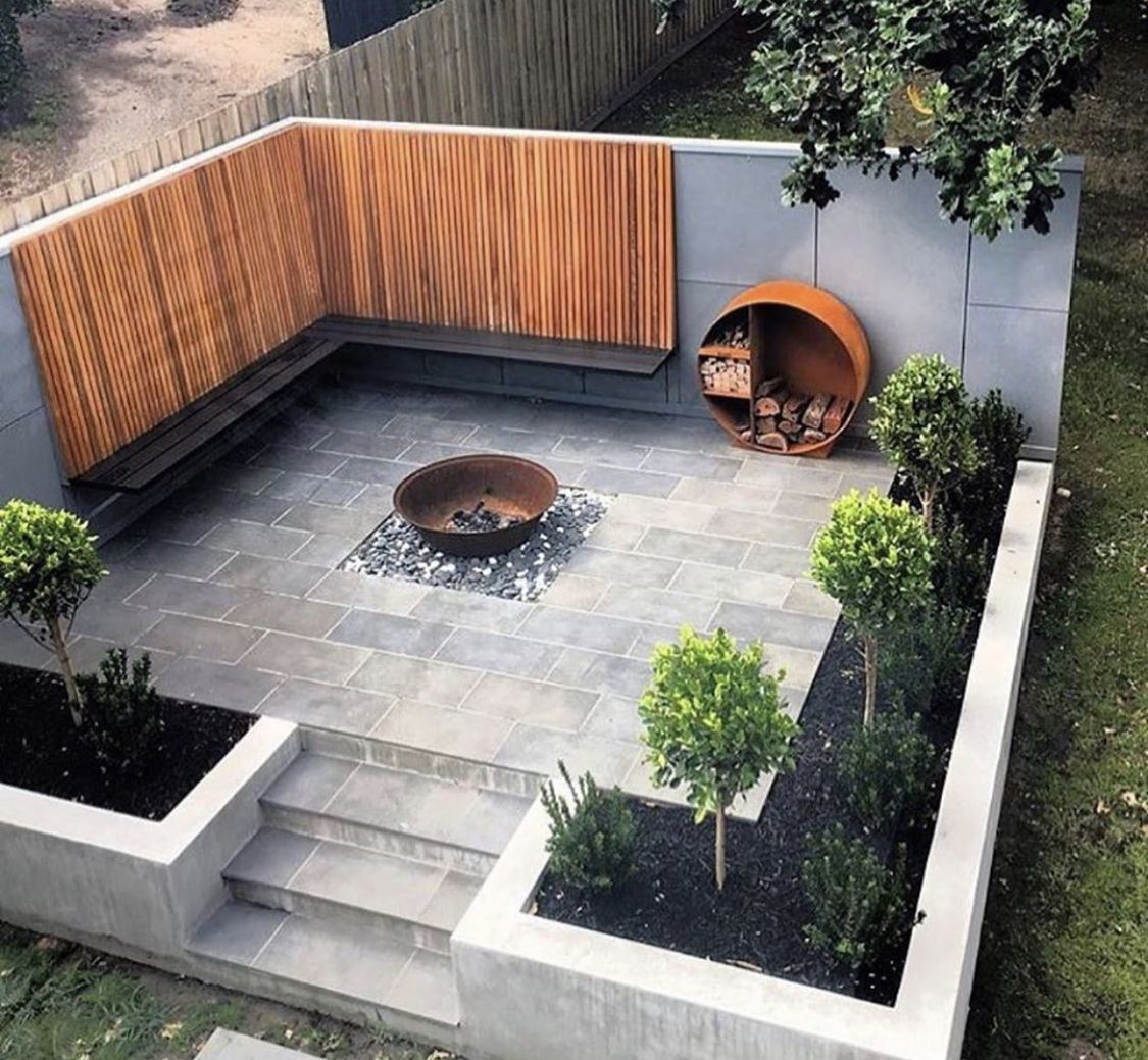 Pin By Coral On A New House Backyard Landscaping Backyard Landscaping Designs Garden Architecture New house backyard design