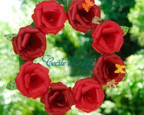Guirlanda de rosas