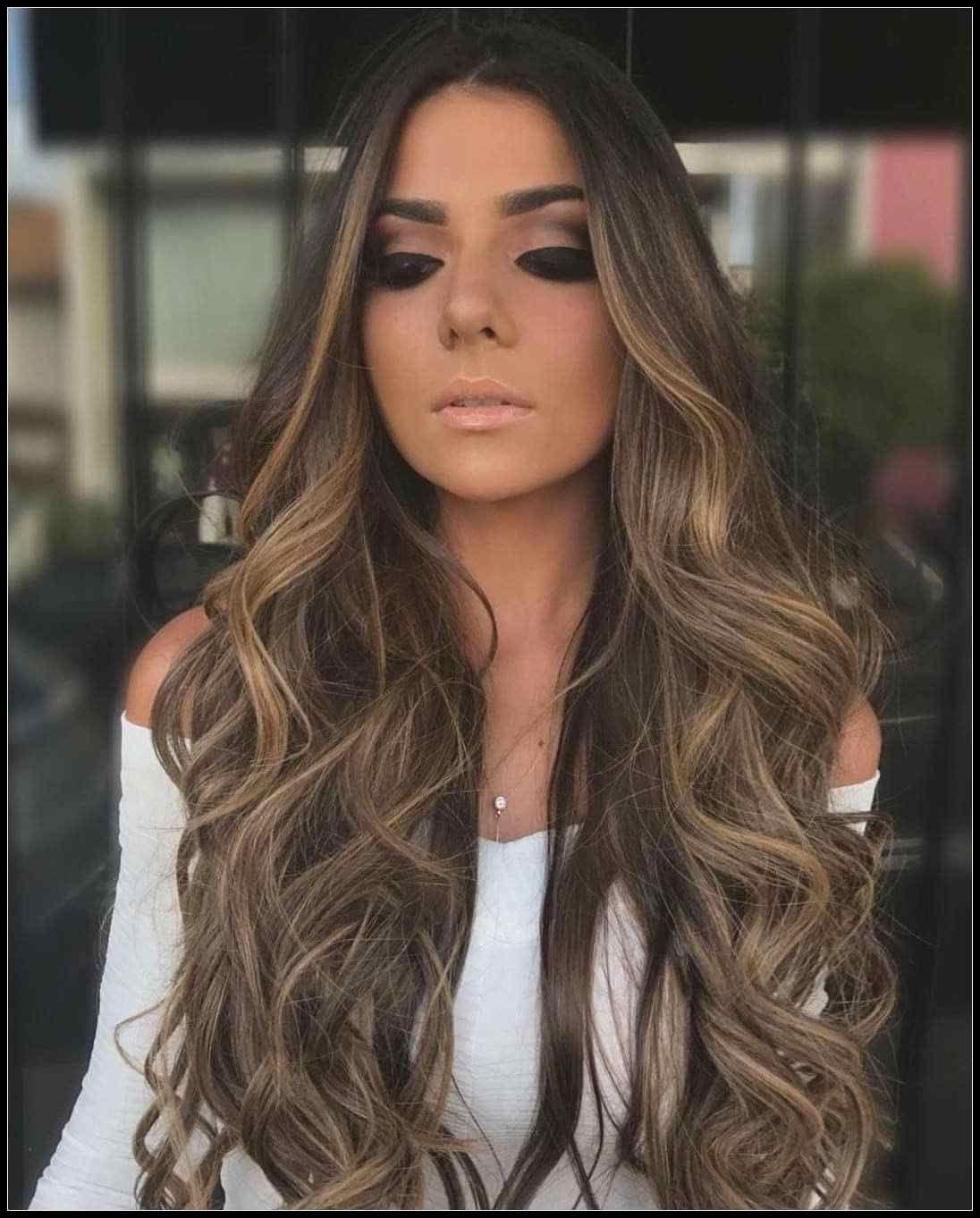 Neues Frisuren Dunkle Haare  Frauen Stile  Frisuren Tutorials
