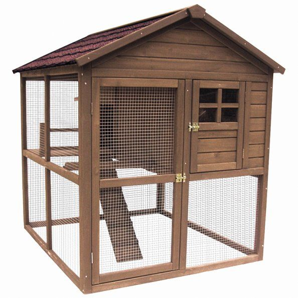 Des Poulaillers Chics Et Deco Poulailler Cage A Poules Palace
