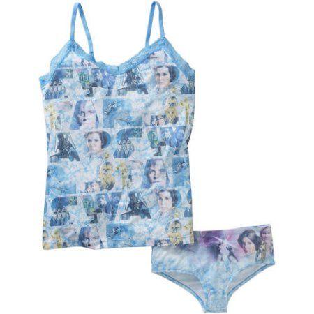 New Star Wars Women/'s Classic Cami /& Panty Sleepwear Set