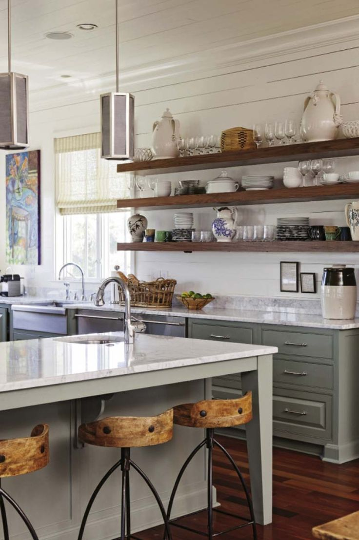 Die Küche West Bright And Airy West Coast Style Luxury On Sullivan S Island