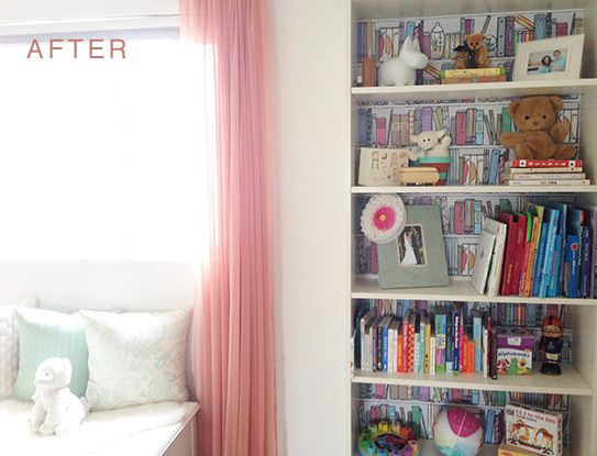 February Makeover: Bookshelf Organization with Chasing Paper ...
