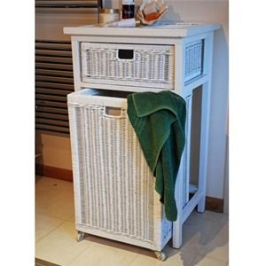 Natural Cane Colonial Laundry Basket