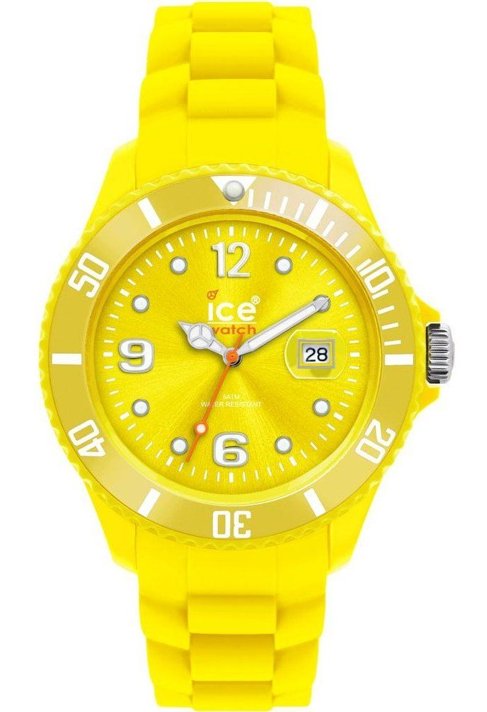 Montre Ice-Watch Sili Forever Yellow Small