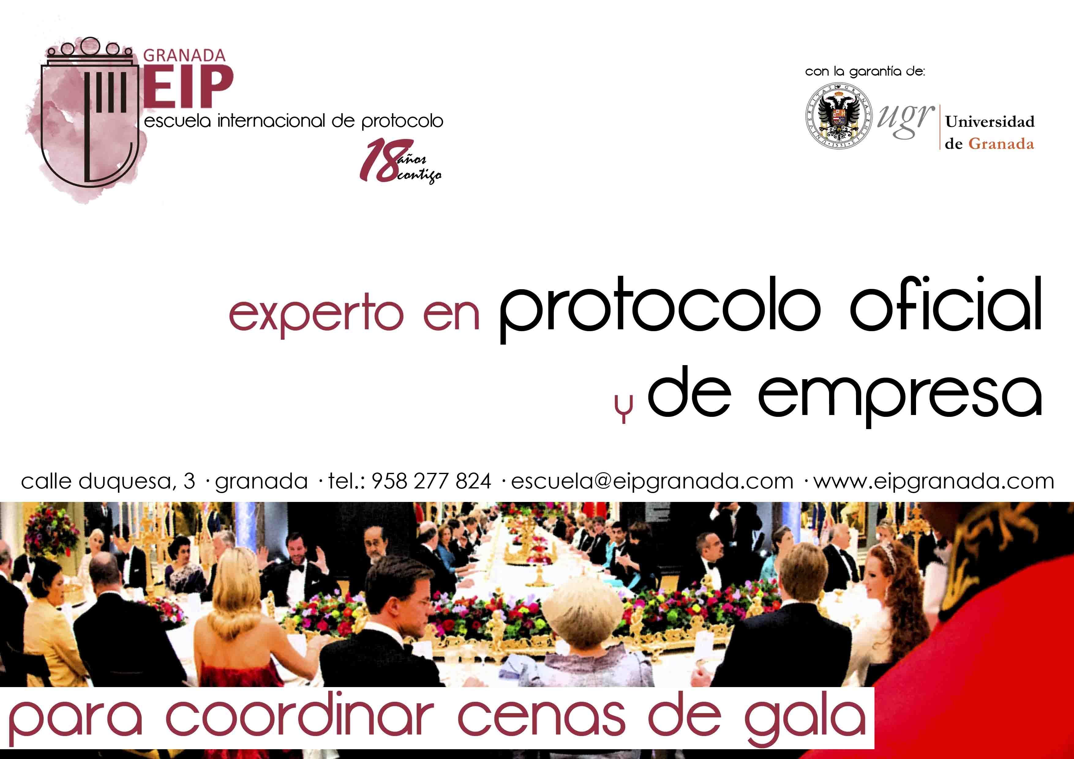 experto en protocolo oficial y de la empresa