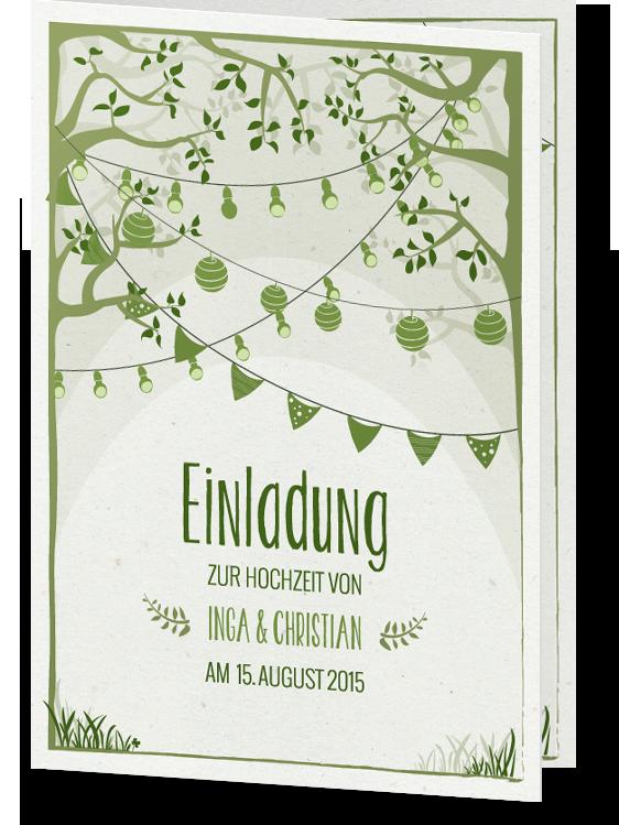 Toll Einladung U201eGartentraumu201c | Hochzeitskarten Von Designern
