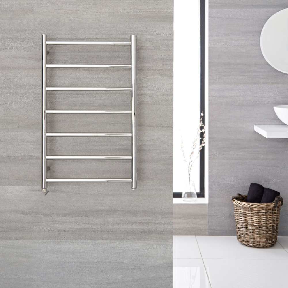 Quo Electric Stainless Steel Towel Warmer 31 5 X 19 75 In 2020 Towel Warmer Heated Towel Warmer Heated Towel Bar