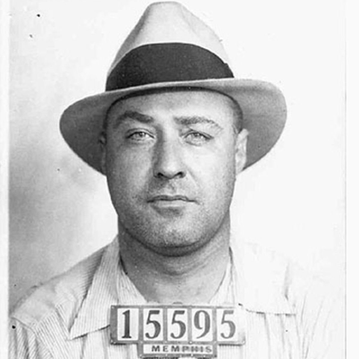 American Bank Robber JOHN DILLINGER Glossy 11x14 Photo Machine Gun Poster Print