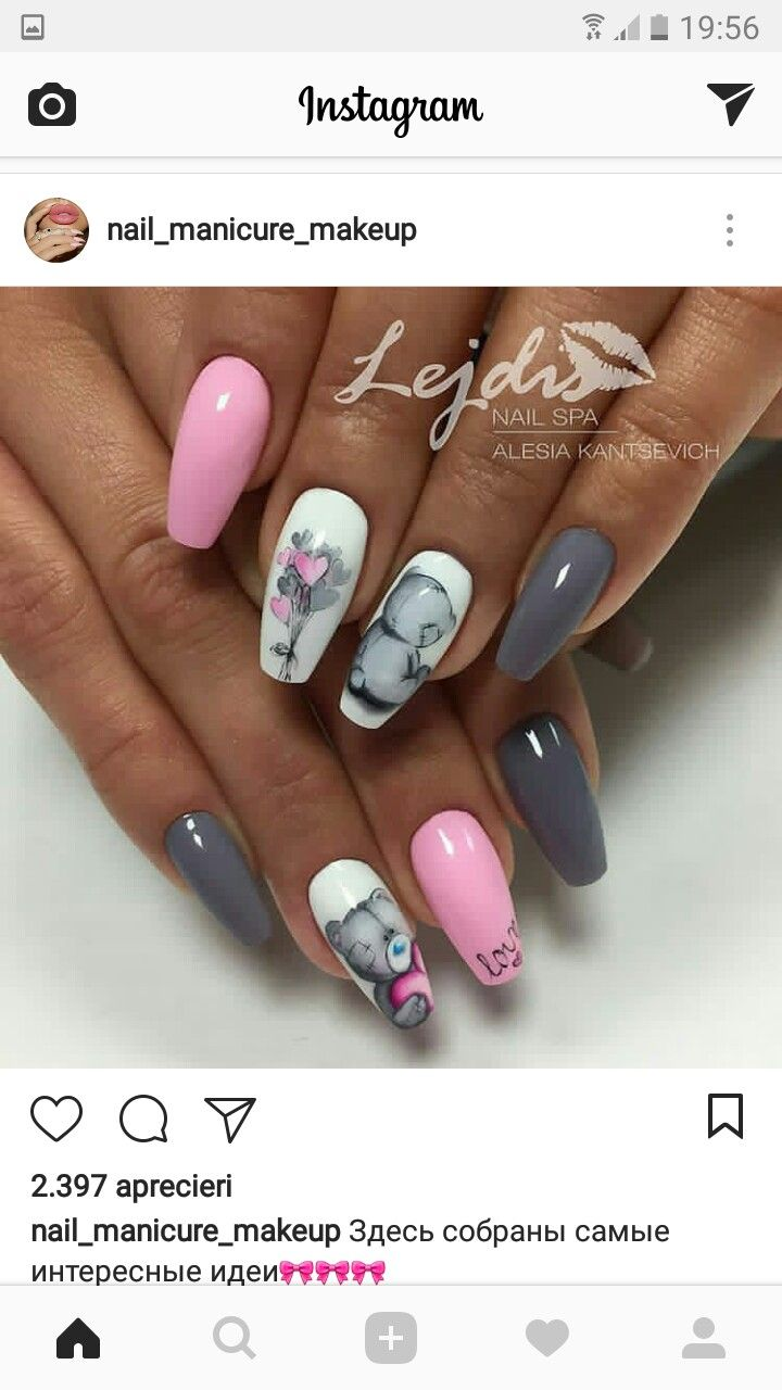 Pin by kis Roxana on Craciun- nails | Pinterest | Manicure