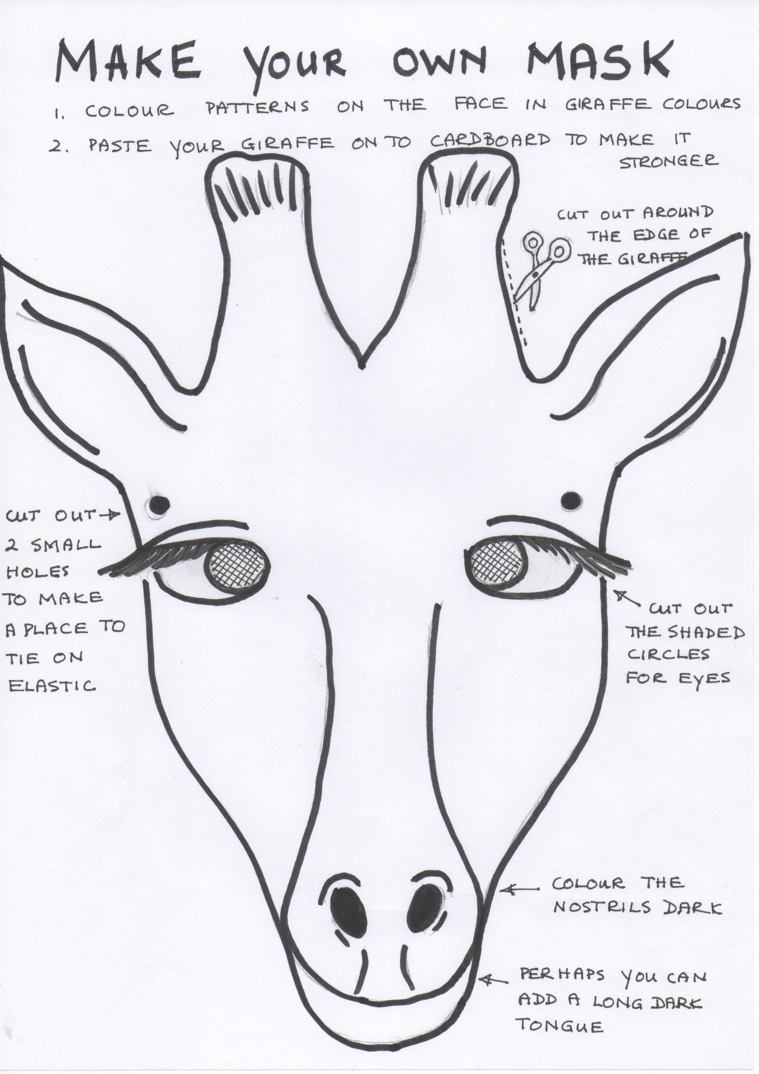 free coloring pages download : Enchanting African Mask