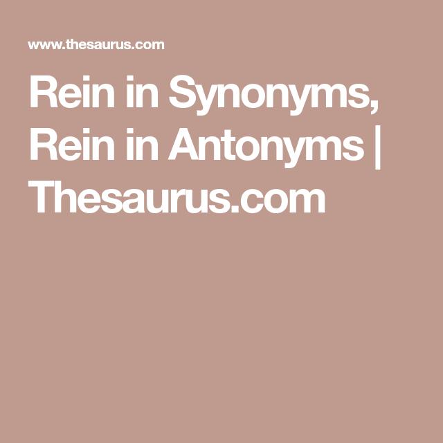 rein anonym