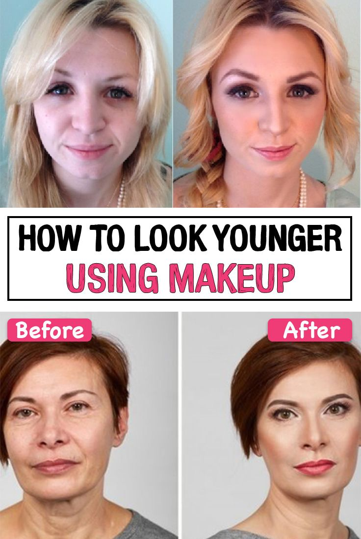 How to Look Younger Using Makeup  Makeup to look younger, Makeup