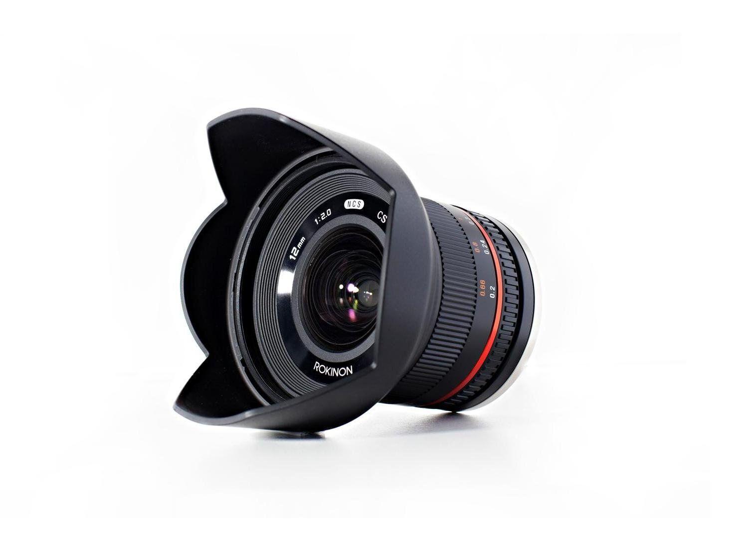 Amazon com : Rokinon 12mm F2 0 NCS CS Ultra Wide Angle Lens