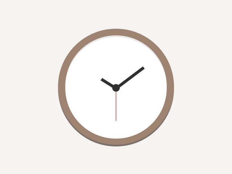 Clock Illustration Clock Illustration Iphone Icon