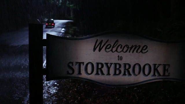 Welcome to Storybrooke sign- hang it on your front door ...