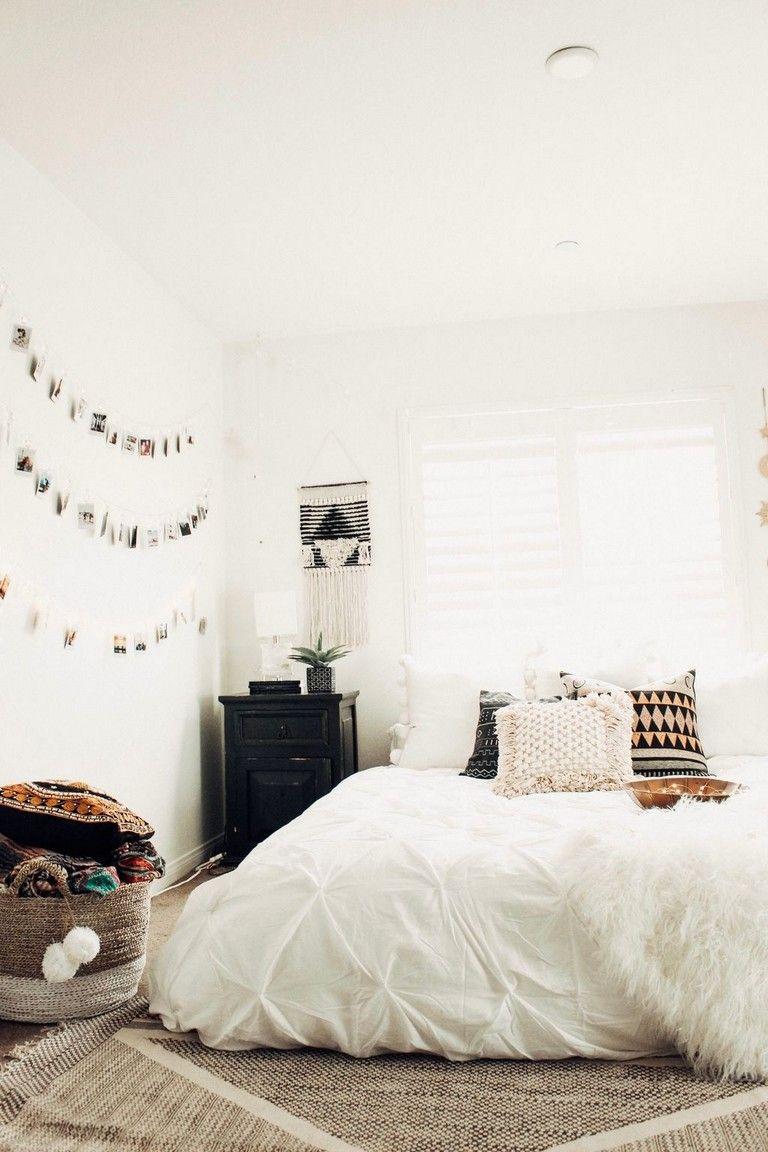 40 Classy College Apartment Bedroom Decorating Ideas