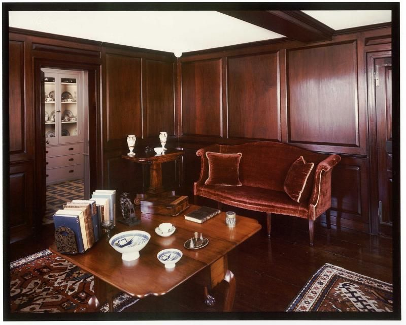 The Old House At Peacefield, Quincy, MA   Paneled Room   North East View