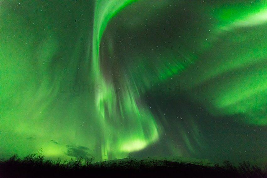 Lights Over Lapland - Abisko National Park, Sweden