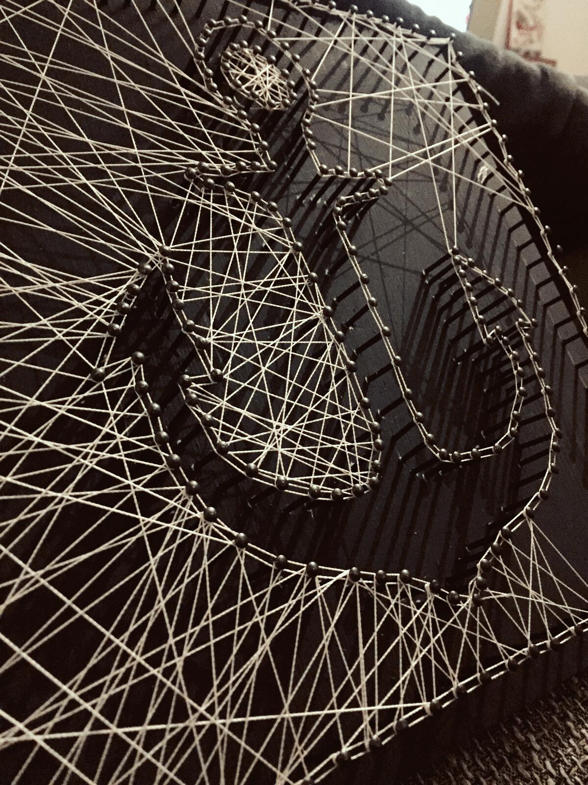 Anker – Fadenbild | Fadenbilder, Anker und Maritim