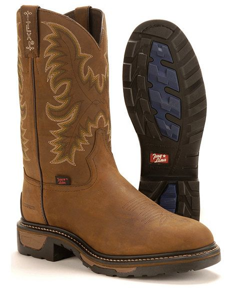 363289ce7c4 Tony Lama TLX Waterproof Work Boots in 2019 | Shoes Boots | Boots ...