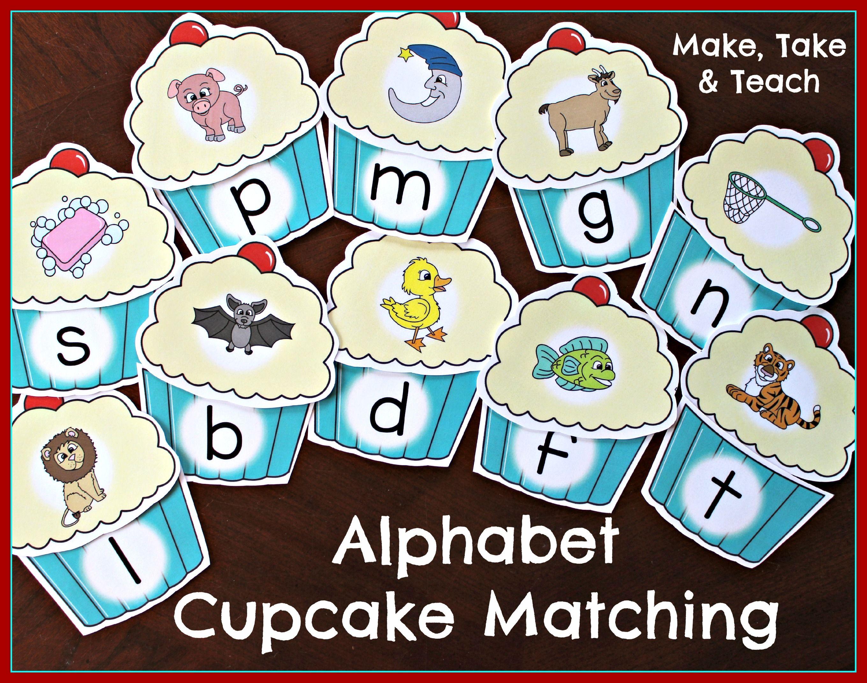 Alphabet Cupcakes