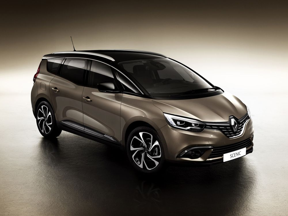 Renault Reveals All New Grand Scenic New Renault Scenic Renault