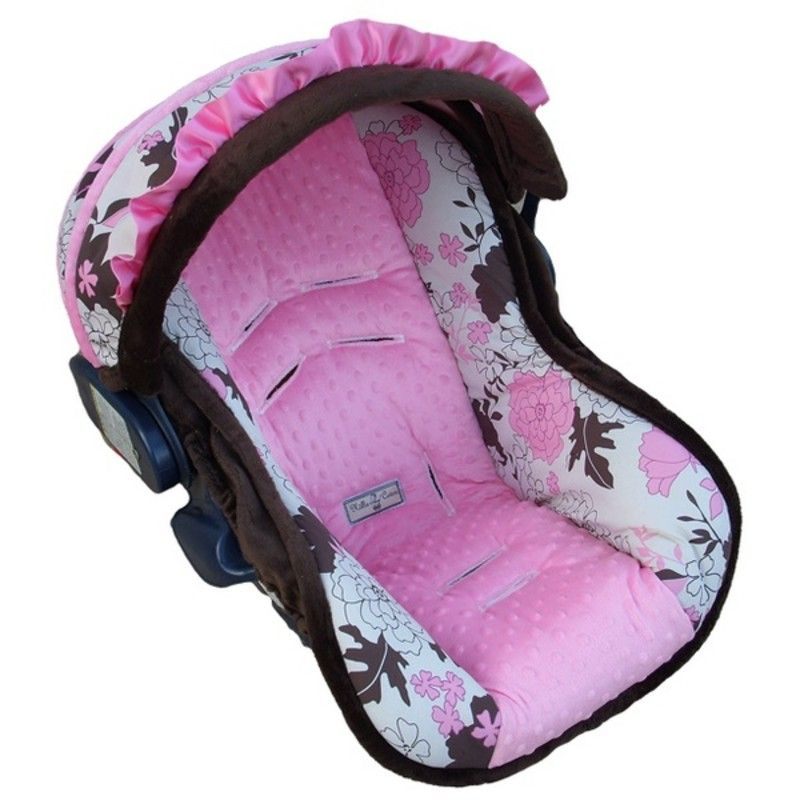 Baby Pink Tessa Infant Car Seat Cover [1NC-114] $198.00 | Baby ...