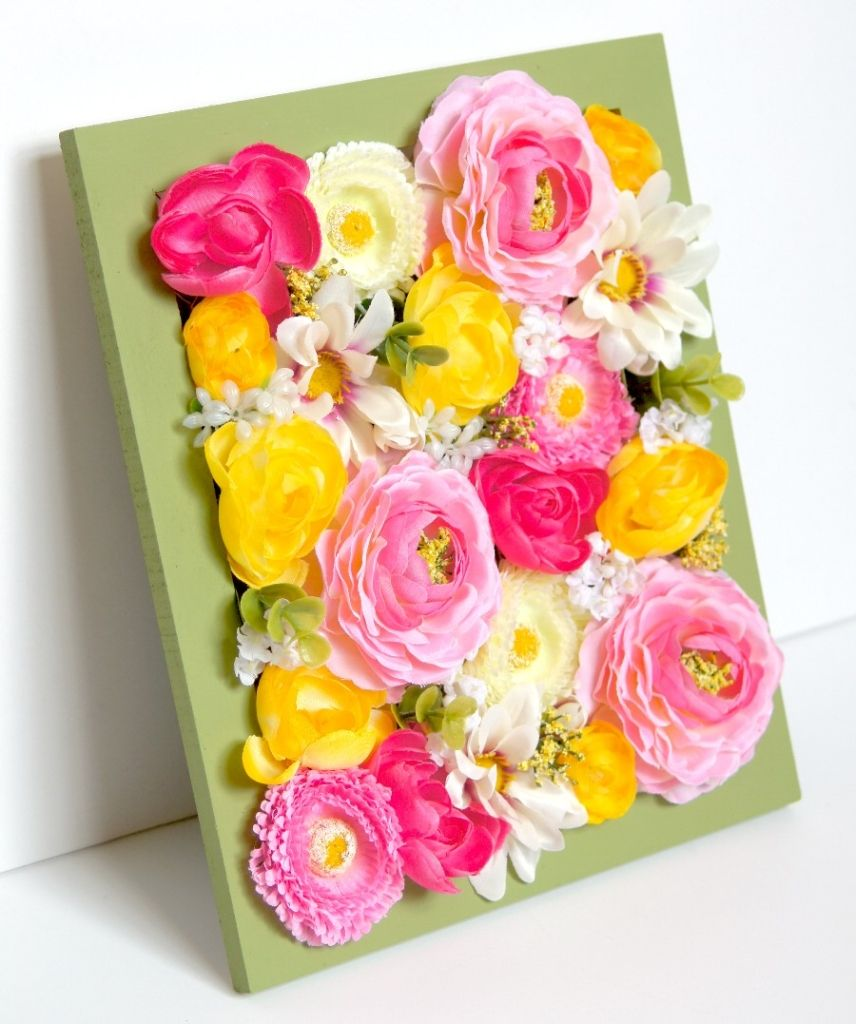 Easy Spring Home Decor Update with Florals | Craftastic Picks ...