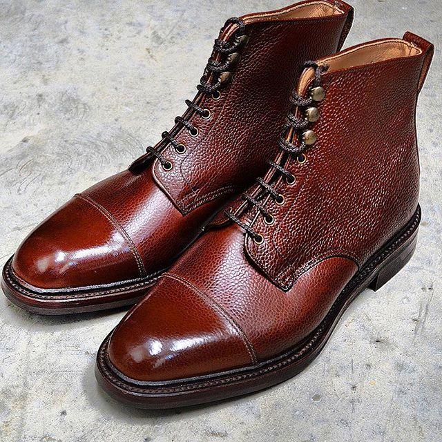 Alfred Sargent Cambridge Boot Mahogany