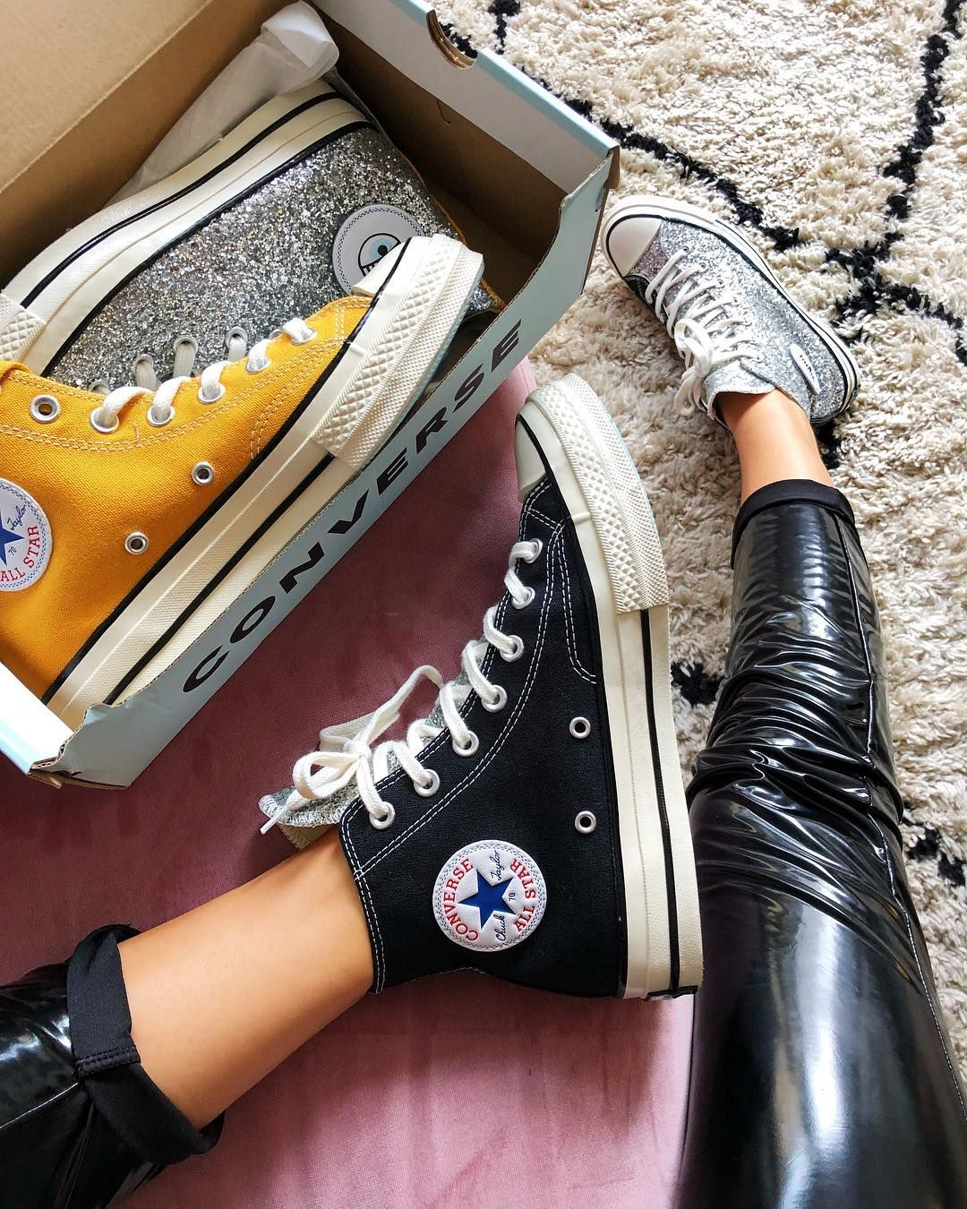 Chiara Ferragni x Converse is now in stores and online, link in ...