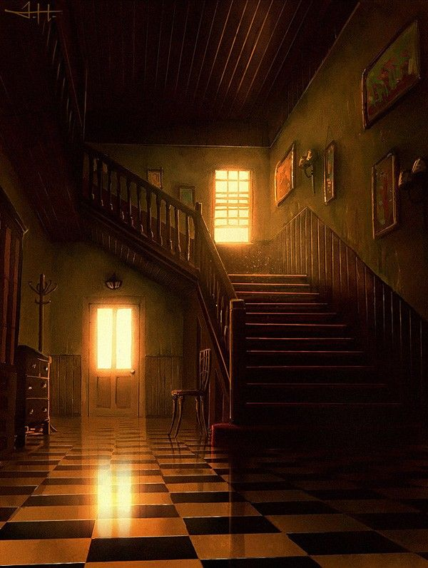 The Hallway can look like all sorts of things, from a house to a cathedral to a forest. It twists and turns and is incredibly difficult to navigate. Making a complete map is impossible; new stories are constantly being created so the map could never accurately show every door in the hallway.
