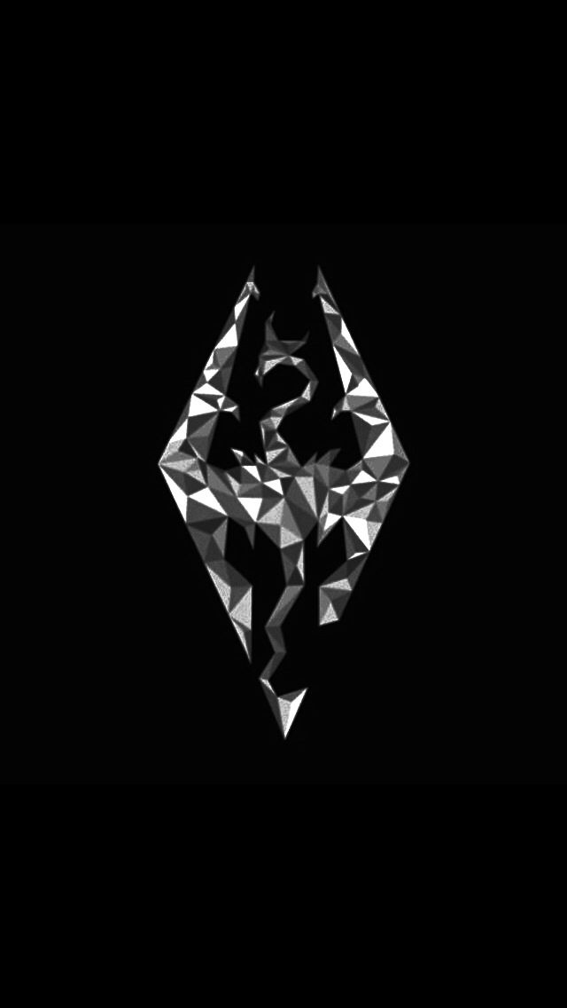 Awesome Logo Skyrim Wallpaper Skyrim Art Elder Scrolls Tattoo