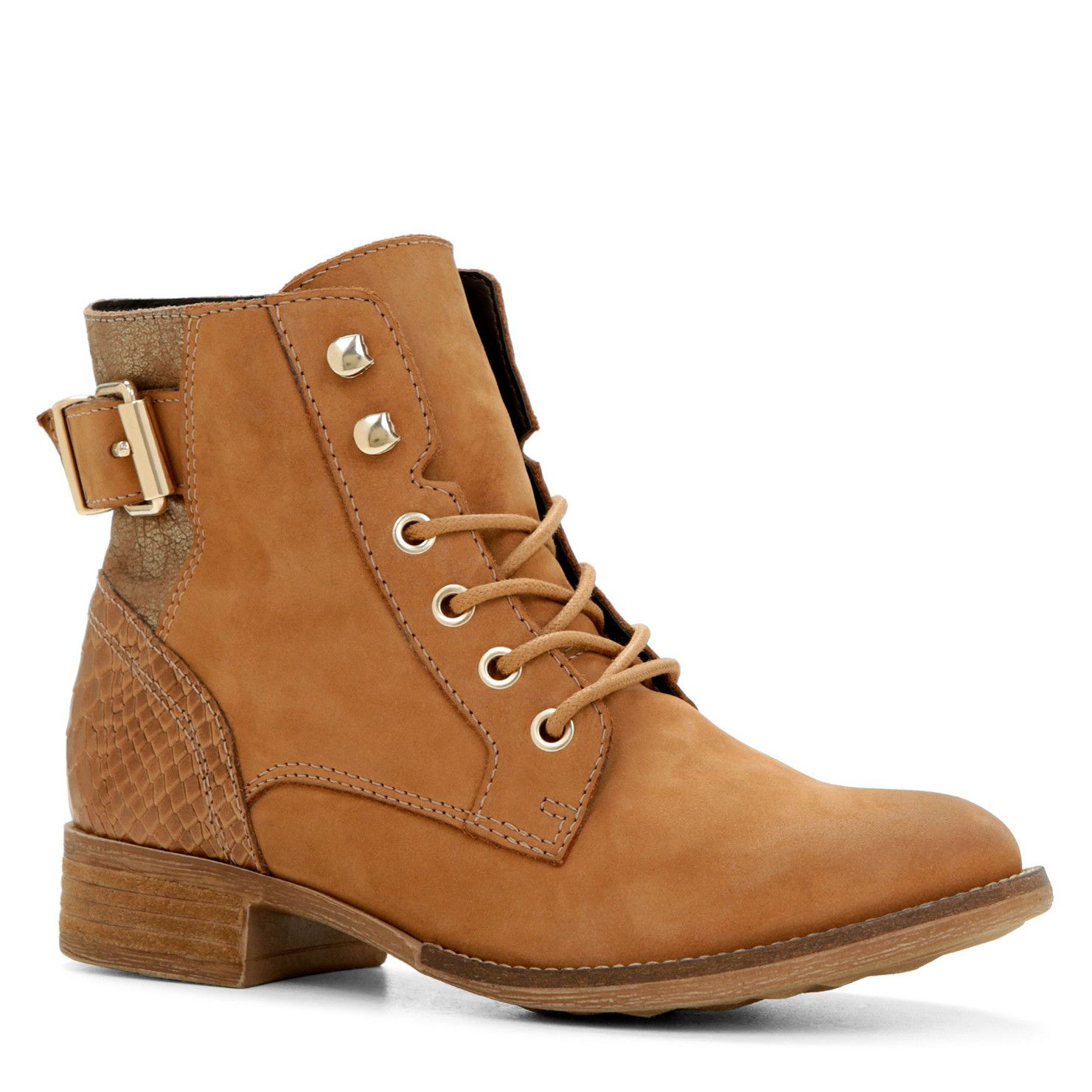 Womens Boots ALDO Saydda Cognac