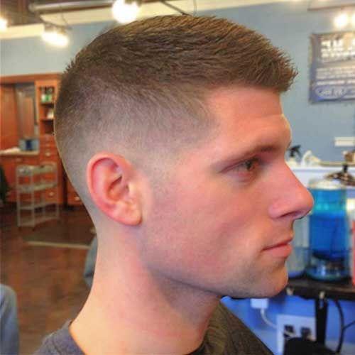 Shaved Sides Brown Men Spiky Hair Jpg 500 500 Cortes De Cabelo